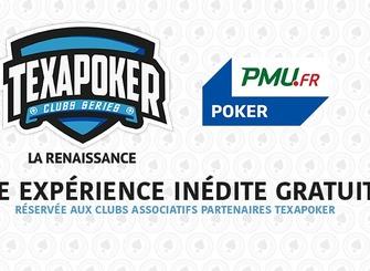 Texapoker Clubs Series La Renaissance, c'est le Jour J !