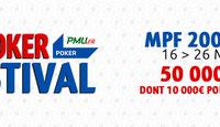 Le MegaPoker Festival débarque online sur PMU.fr