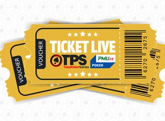 Comment remporter et utiliser des tickets Texapoker Live?