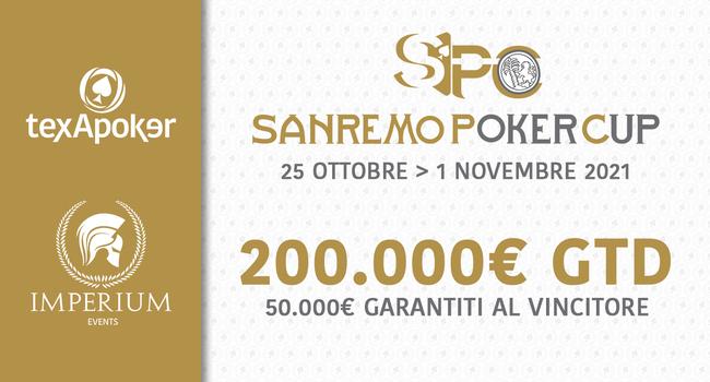 Sanremo Poker Cup, qualcosa di nuovo per l'inverno
