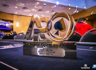 L'APO 2500, le bonheur retrouvé du poker live