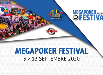 Le MegaPokerFestival en vedette en septembre