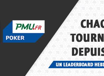 Les TPS s'installent dans votre salon sur PMU.fr